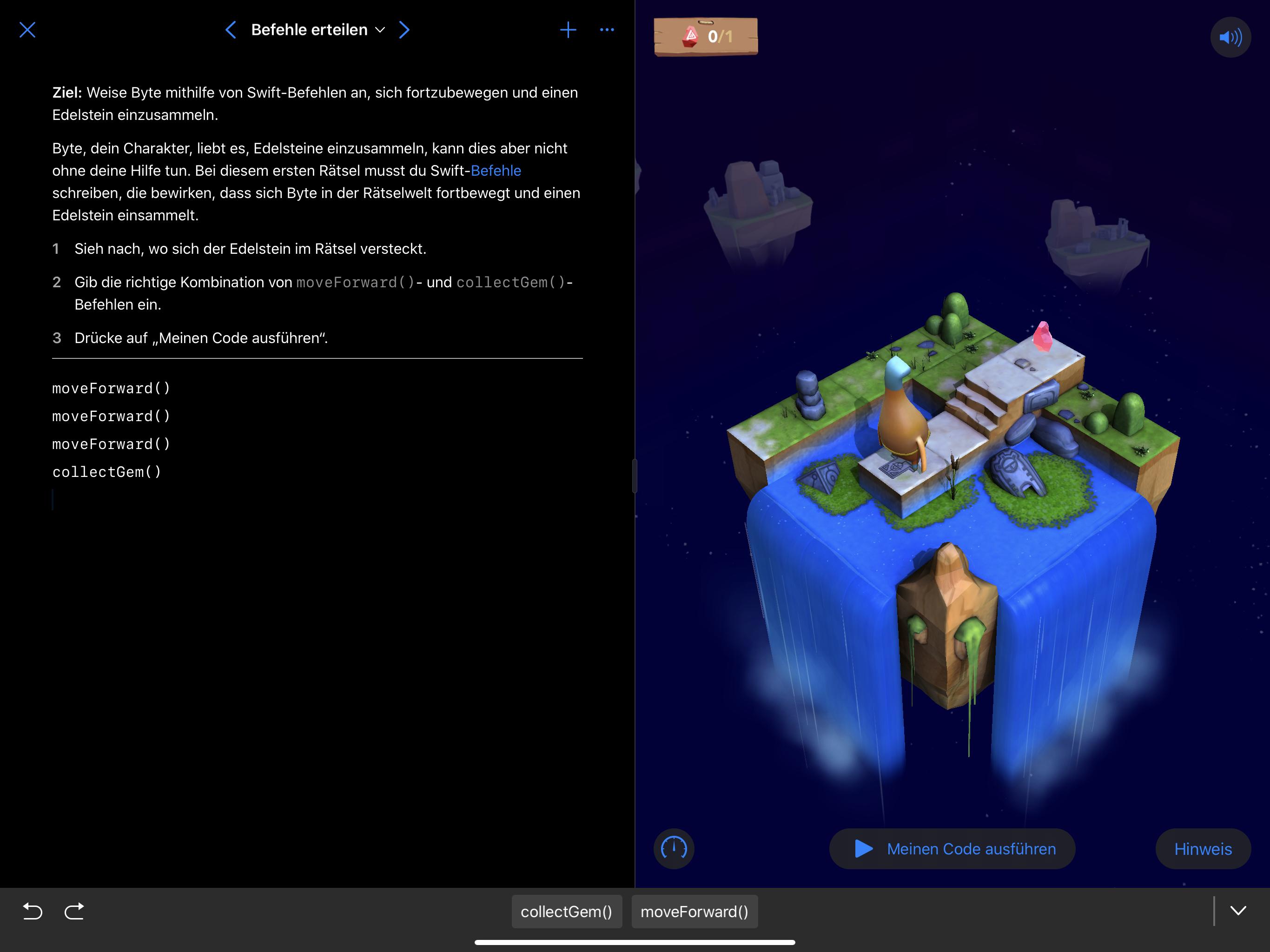 Swift Playgrounds bietet jetzt vollen Support für den neuen Dark Mode.